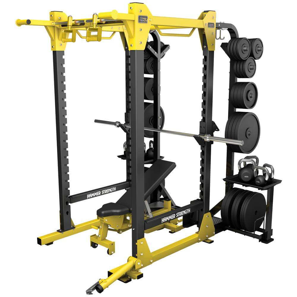 Jaulas, Power Cages y Racks
